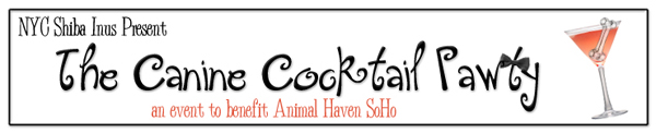 Canine Cocktail Pawty Banner